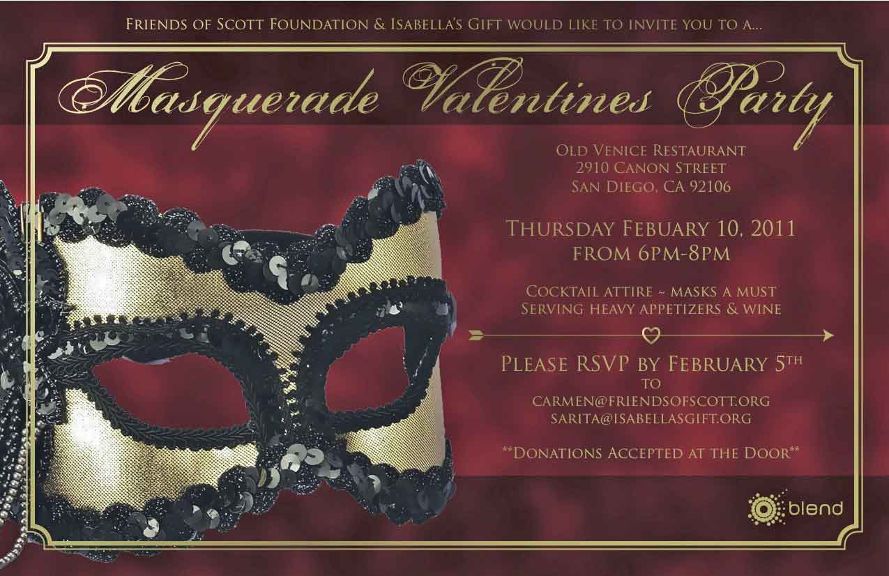 You\'re cordially invited – Masquerade Party