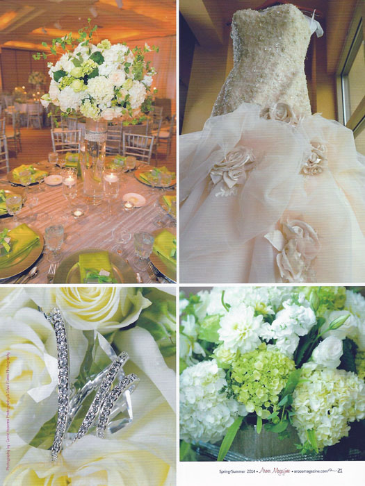 Wedding La Dolce Idea Green Silver 2