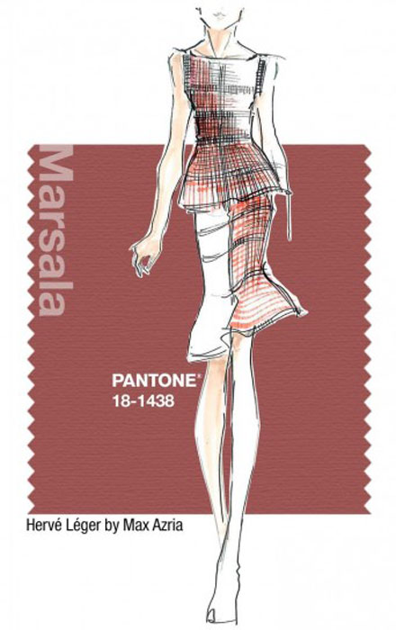 Pantone_MarsalaFashion
