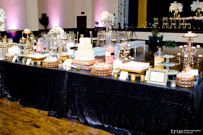 The Sweet Table Boutique A Glam Gatsby Dessert Station