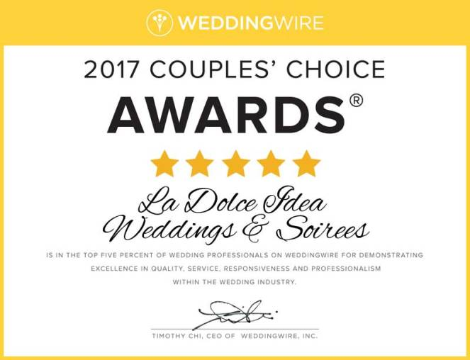 ladolceidea-2017-couples-choice-award-weddingwire-wedding-planning