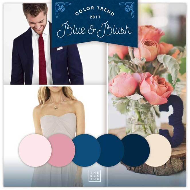 ladolceidea color trends blue blush pink grooms the black tux
