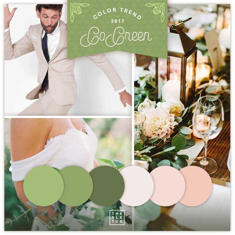 ladolceidea color trends green pantone grooms the black tux